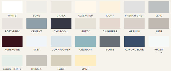 Create your own style with 25 beautiful colours to choose from