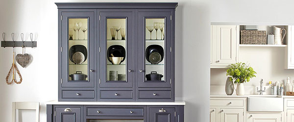 Slate Grey glazed dresser
