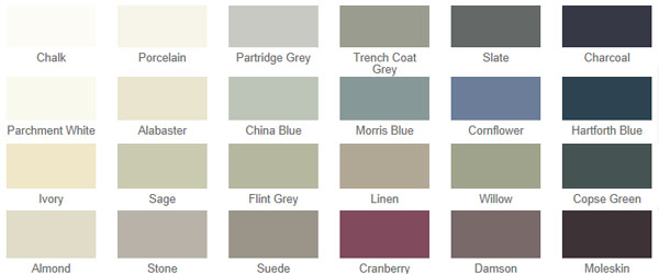 Choose your own style from a palette of 24 beautiful colours