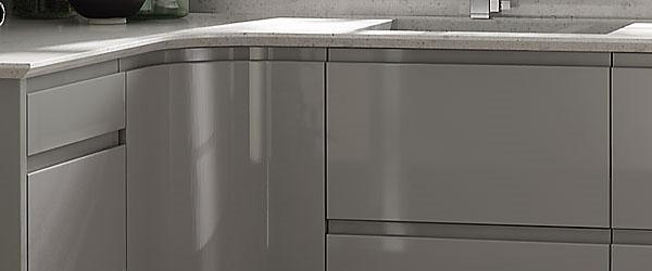 Northampton Kitchens And Bathrooms - Dove grey kitchen units