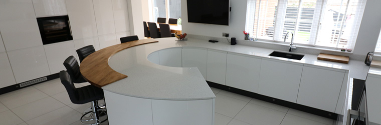Gloss White & Matt Anthracite by ASL - Northamptonshire