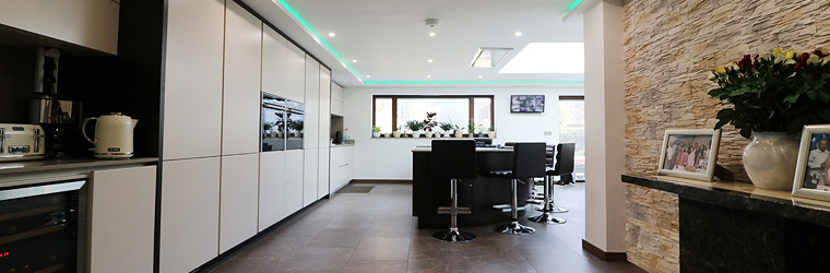 Cashmere & Wenge kitchen by ASL - Northamptonshire